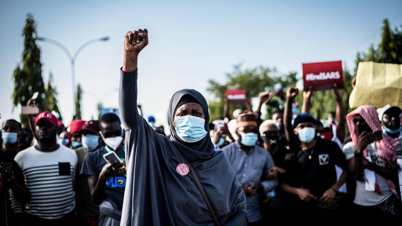 These Photos Show What The #EndSARS Movement Looked Like