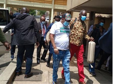 Sonko's Lawyer Walked Outside Milimani Law Courts Because of The Following
