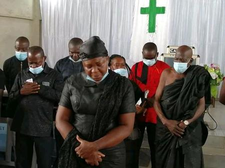 Mrs. Ophelia Hayford Storms Church; See What The Pastor Told Her And Her Campaign Team (Photos)