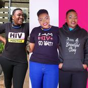 See the face of the lady who celebrated 28 years of living with HIV positive