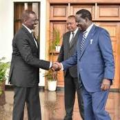 Uhuru In A Dilemma After Raila Threatens To Form Coalition With Ruto If Betrayed