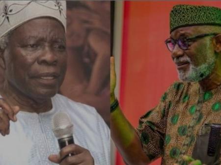 Prof. Banji Akintoye Replies Gov. Akeredolu On His Yoruba Nation Comment