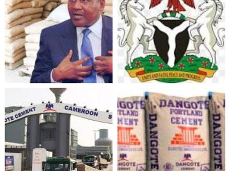 Aliko Dangote Finally Reveals why The Price Of Cement Is Higher In Nigeria