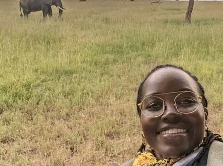 Meet Lupita Nyong'o At Serengeti In Tanzania