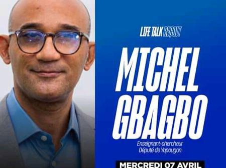 Michel Gbagbo, son tout premier passage sur le plateau de Life TV séduit les téléspectateurs