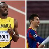Here is the Player Usain Bolt names the greatest of all time between CR7 and Messi.