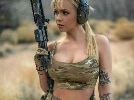 Russian Female Soldiers Are The Most Beautiful Of All, Checkout Their Cool Pictures