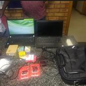 A SECURITY GUARD who had to look after government offices found in possession of stolen goods.