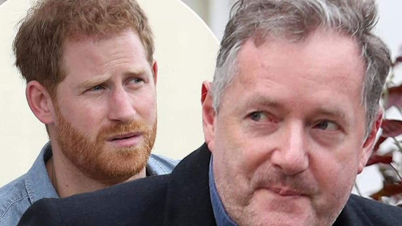 Piers Morgan lashes out at 'brat' Prince Harry for 'yapping' about personal life