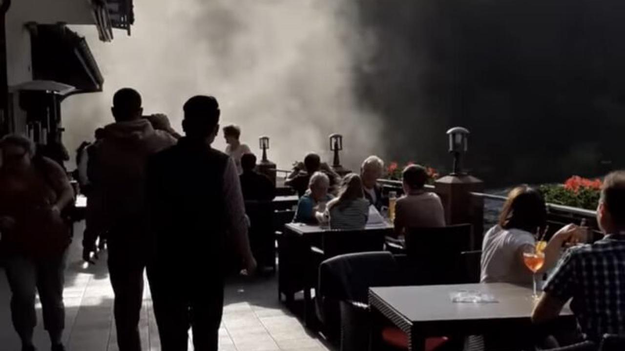Naturgewalt: Tornado entsteht am Mummelsee im Schwarzwald + Video