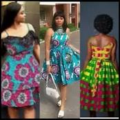 Simples And Decent Ankara Styles For Ladies{Short Gowns}