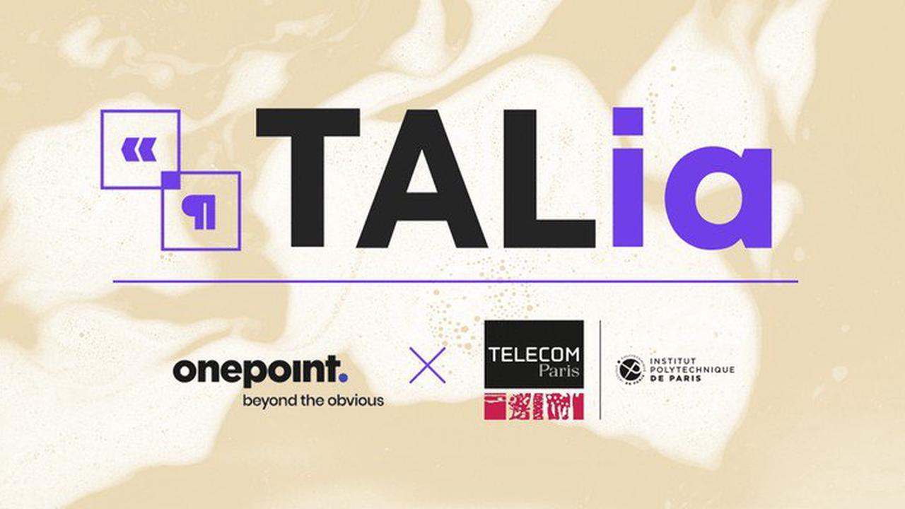 TALia : le laboratoire de recherche de onepoint et Télécom Paris autour du traitement du langage naturel