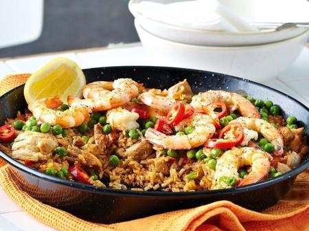 See how to make Parika Jollof Rice with Prawns at home now