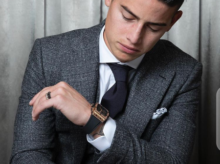 He's Fashionable, Checkout These 22 Photos Of James Rodriguez Rocking Beautiful And Classic Outfits.