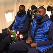 PHOTOS: Chelsea players and officials on board to France to face Rennes in Champions League clash