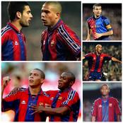 Throwback Photos Of Guardiola, Emmanuel Amunike And Ronaldo De Lima As Barcelona Players