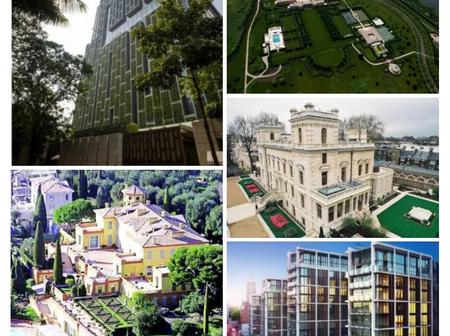 TOP 5 Most Expensive Houses In The World And Their Owners.