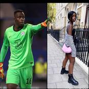 Eduard Mendy Is Handsome But Have You Seen How Beautiful His Sister Looks? Here Are Some Photos