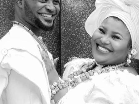 See Beautiful Wedding Pictures Of Judikay And Her Husband