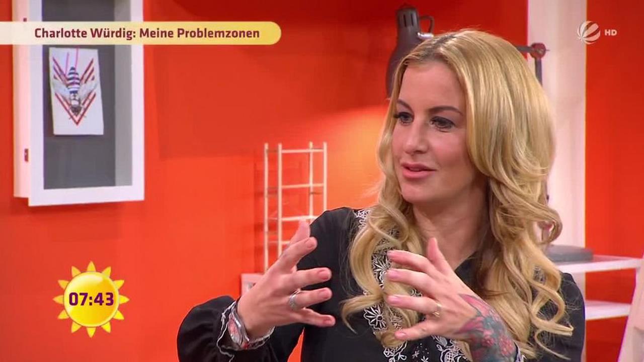 Frühstücksfernsehen - Mittwoch: Charlotte Würdig
