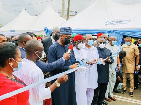 Hours After Commissioning New Projects In Asaba, Read What Bukola Saraki Said About Governor Okowa