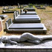 The Best Tombstone Built By A Woman For Her Husband. Picture