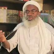 Sheikh Gumi Reacts to Zamfara Schoolgirls Abduction, Issues Fresh Clarification