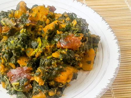 Here's how to prepare Yam and vegetables