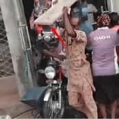 This is Bad: See What People Are Currently Looting In Osogbo