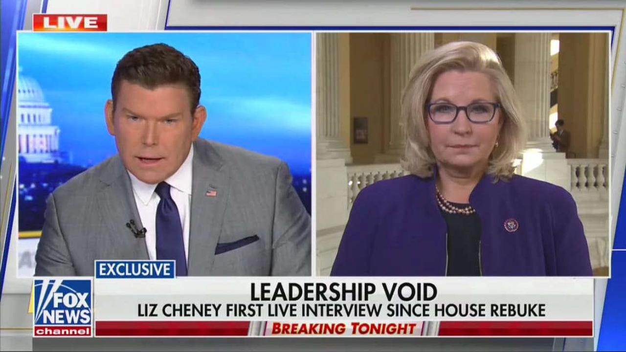 Liz Cheney Calls Out Fox News on Fox News: You Have 'Obligation' to Say 'Election Wasn't Stolen'