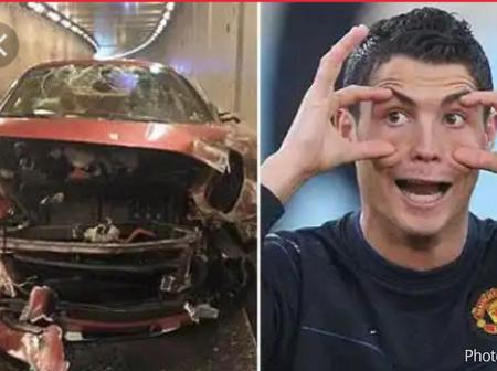 Top 5 Footballers Who Have Crashed With Their Ferrari In The Past.