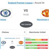 Chelsea vs Manchester United Stats Predictions and Game Results
