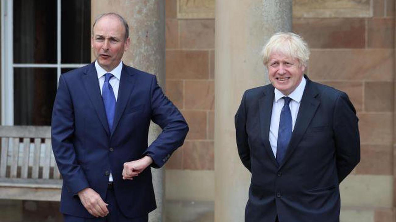 Prime Minister and Irish premier make joint call for calm in Northern Ireland