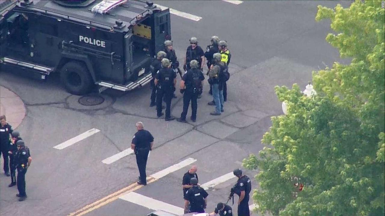 Arvada, Colorado: A Colorado police officer was among three people killed in a shooting in the city of Arvada