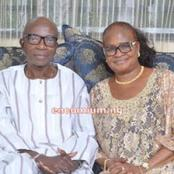 The Nigerian Ex-Finance Minister That Died Today, See Photos Of His Beautiful Wife Who Is A Christian