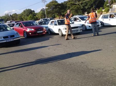 R101 Pretoria road to Bela-Bela the covid-19 roadblock took its course today