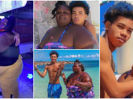 A Young Man Shows Off Plus-Sized Girlfriend, Says He Loves Her Heart, Not Her Looks.