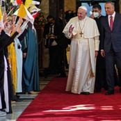 Pope Francis makes his first ever Papal visit to Iraq.
