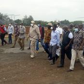 What Raila and Uhuru Did in Kisumu After Burial of Mudavadi's Mother (Photos)