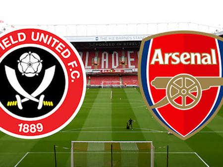 Here Is How Arsenal Might Lineup Against Sheffield United