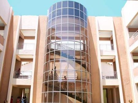 See Some Of The Beautiful Pictures Of Dangote Business School Built By Alh. Aliko Dangote.