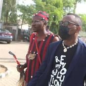 Drama as native doctor appears in court in solidarity with Sowore for the commencement of his trial