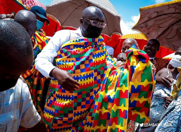 746045217d0a5ab8d769ae6c57d2d4af?quality=uhq&resize=720 - Prez. Akufo-Addo, Dr. Bawumia And John Mahama Who Dazzles More In Their Kente Cloth (Photos)