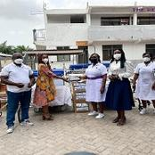 Donation Of Hospital Equipment To Kaneshie Polyclinic By Rebecca Foundation.