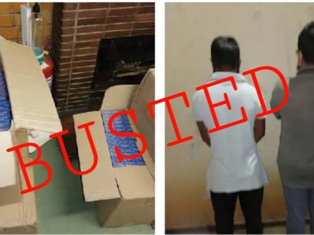 Two Foreigners Who Have Been Selling Unlawful Cigarettes To South Africans Have Been Arrested
