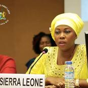 Meet The Current Sierra Leone First Lady, Who Has Acted In A Nollywood Movie