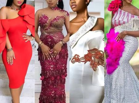 Check Out 22 Photos Of The Latest Lace And Ankara Designs