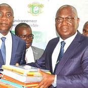Ministère de l'Environnement et du Développement durable: le ministre Jean-Luc Assi prend...