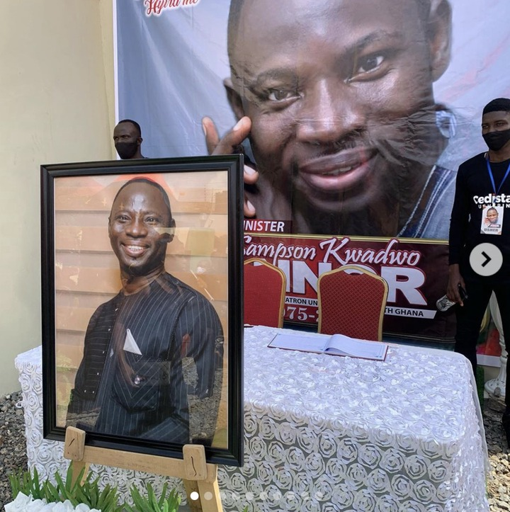 749a48684d1cac753ed0f586c4e52c95?quality=uhq&resize=720 - Sad Photos From Musician Sampson's Final Burial Ceremony. Prophet Kofi Oduro Pays His Last Tribute