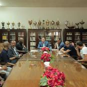 Al Ahly's Boss Summons Pitso After CAF Loss. Check Out The Meeting Outcome